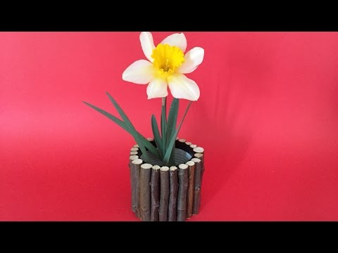 Create a Free Wood Branches Vase - DIY Home - Guidecentral