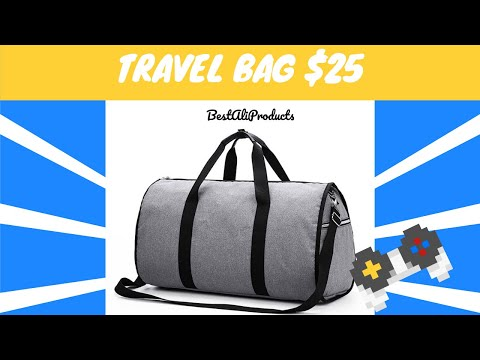 Review of Travel Backpack for Men @ Aliexpress | Best Travel Backpack for Men 2019