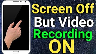 Screen Off Karke Video Kaise Record Kare || Record Video With Screen Off Or Lock screenshot 4