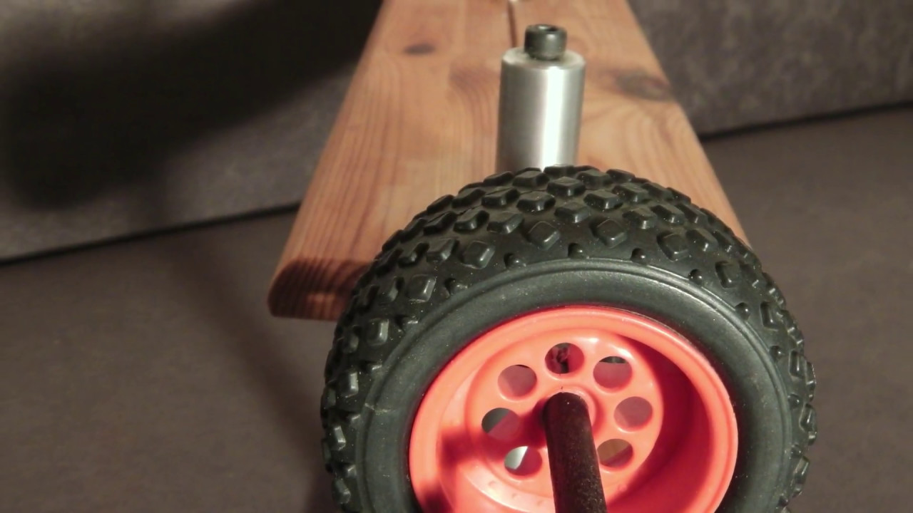 Dubbing Brush Maschine selber bauen DIY