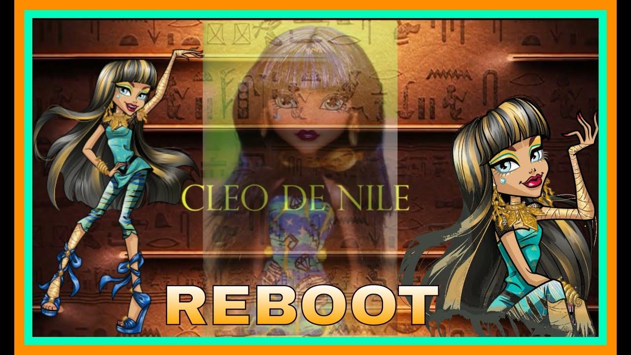 Обзор  MONSTER HIGH CLEO DE NILE /  New Reboot Basic doll/ Сравнение старых и новых выпусков Клео.