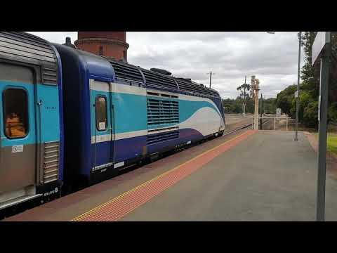Wangaratta Railway Station Victoria Australia 3rd December 2019.