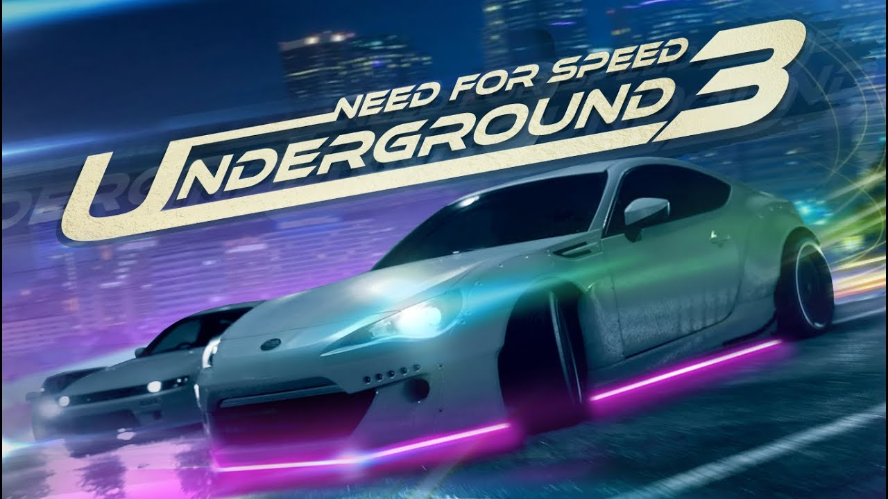 Need For Speed Underground 3 Unofficial Trailer Youtube