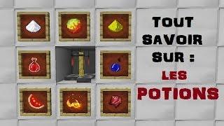 TUTO Minecraft - Comment faire des potions ? (Tout ce qu'il faut savoir)