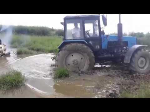 Синий трактор Трактор на бездорожье Off Road Tractor #14