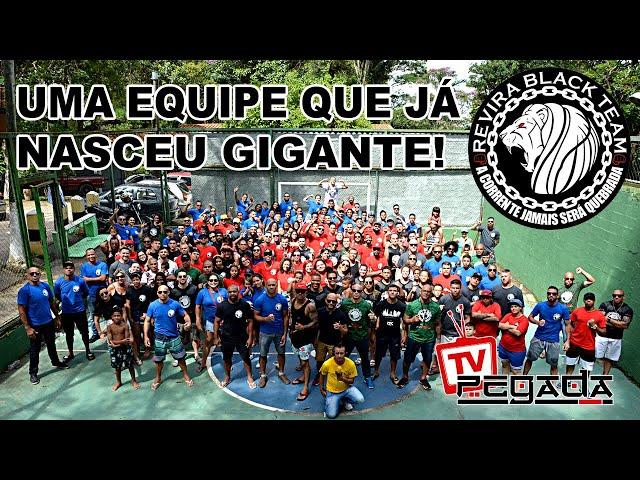 Uma equipe que já nasceu Gigante! - Revira Black Team - TV Pegada #187