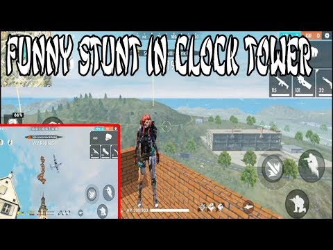 BRICKS MODE FUNNY STUNT IN CLOCK TOWER | FREE FIRE NEW MODE | TELUGU GAMING ZONE