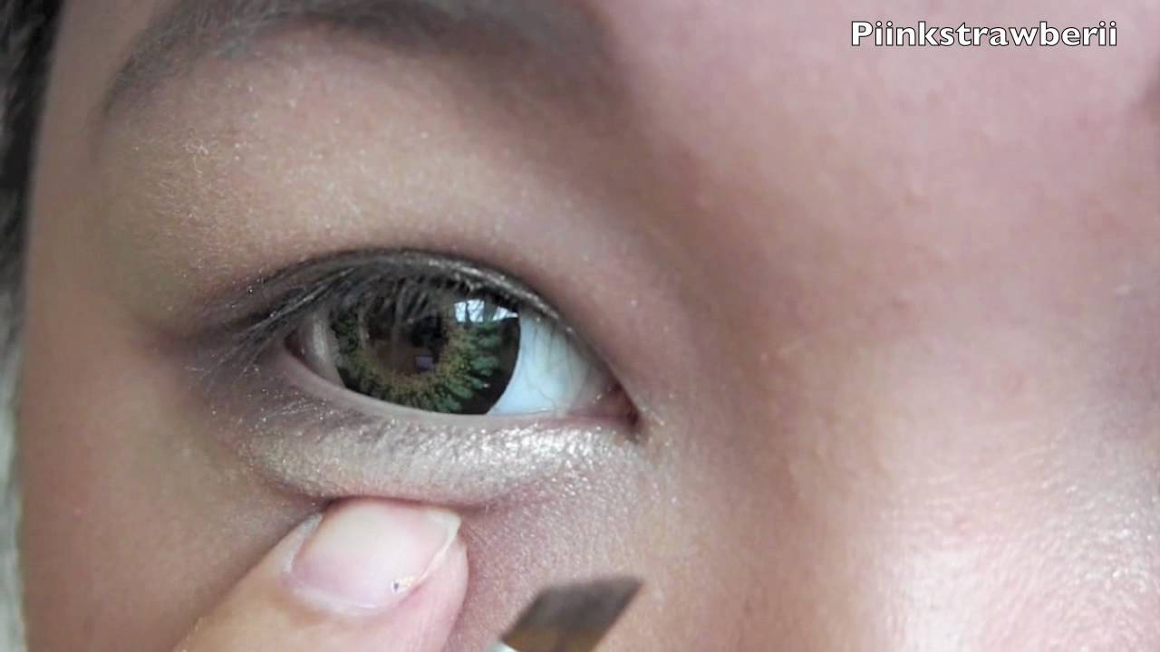 Ulzzang Dolly Eye Makeup Tutorial Youtube