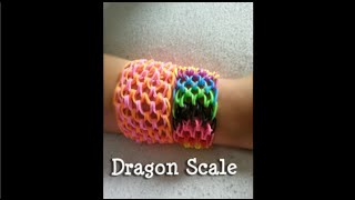 Loom Bands NL Dragon Scale