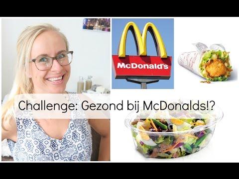 Food Challenge: Gezond eten bij de McDonalds!?