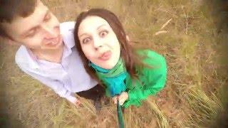Веселая селфи-прогулка перед свадьбой. Funny selfie - walk before the wedding