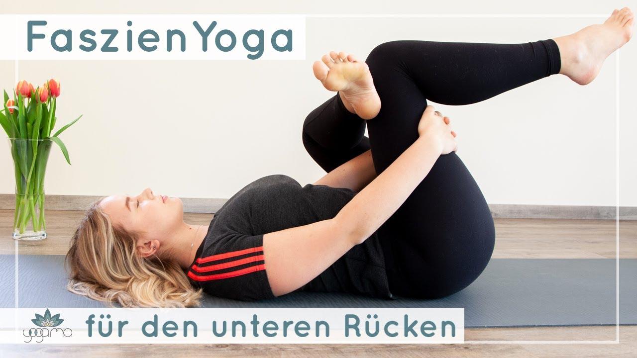 Faszien Yoga für den unteren Rücken