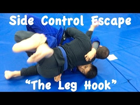 Side Control Escapes: Leg Hook 1 and 2 with Professor Christopher Costa