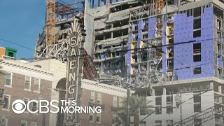 Video purports to show flaws inside Hard Rock Hotel before collapse