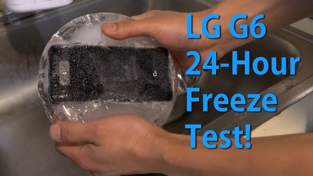 LG G6 dunked, frozen, and thawed - Android Community