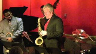 "Chantale Gagne Quintet -""Strollin'"" at Kitano, NYC 3-1-2014"