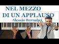 Nel Mezzo di un Applauso - Alessio Bernabei - Karaoke - Piano Solo - Sanremo 2017