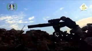Сирия. Попадание ракетой из американского ПТУРа TOW в танк Т-90