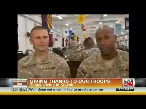 American Morning - Thanksgiving in Kuwait