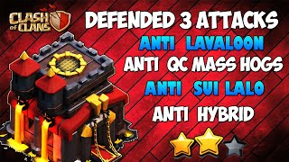 Town hall 10 (Tested in 15 Wars) BEST WAR BASE 2020 AnTi 3 Star [AnTi All Combo] Clash Of Clans COC