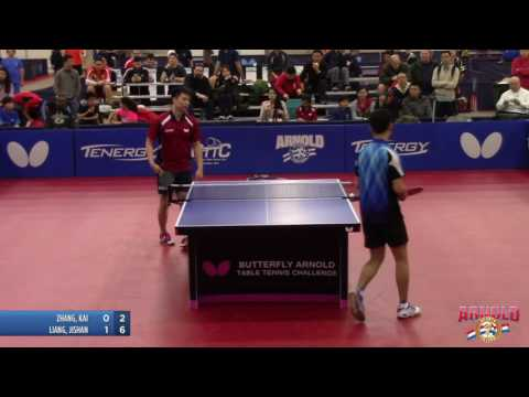 2017 Butterfly Arnold Table Tennis Challenge - Open Singles Semi-Finals #2: Zhang, K. v.s. Liang, J.
