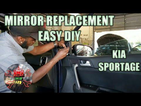 Kia sportage mirror replacement