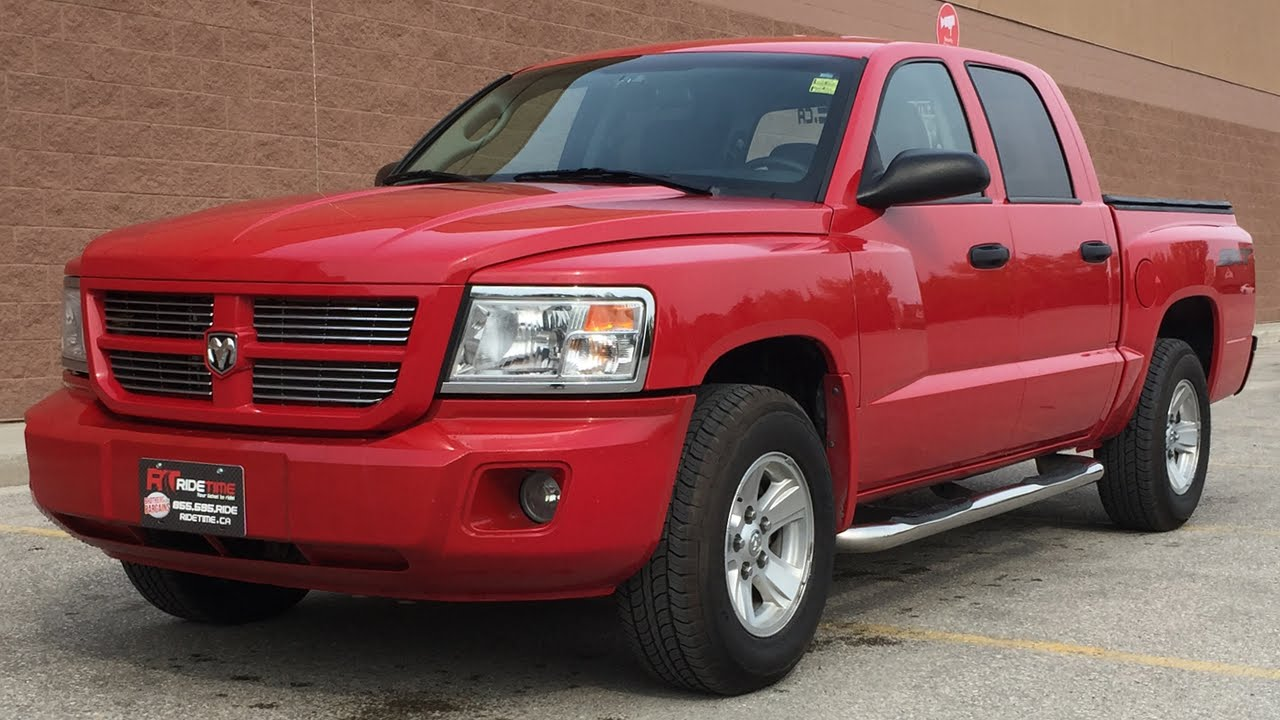2008 dodge dakota sxt - crew cab, soft tonneau cover, alloy wheels
