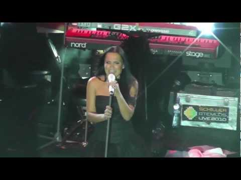 (LIVE) Tarja - Bless The Child (cover Nightwish) @ Bratislava MMC 20.01.2012
