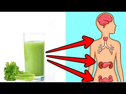 Just One Glass Of Celery Juice And You'll Be Amazed With The Effect