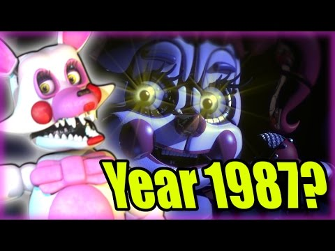 FNAF SISTER LOCATION YEAR AND TIMELINE SPECULATION - Five Nights at Freddy's Sister Location Teaser