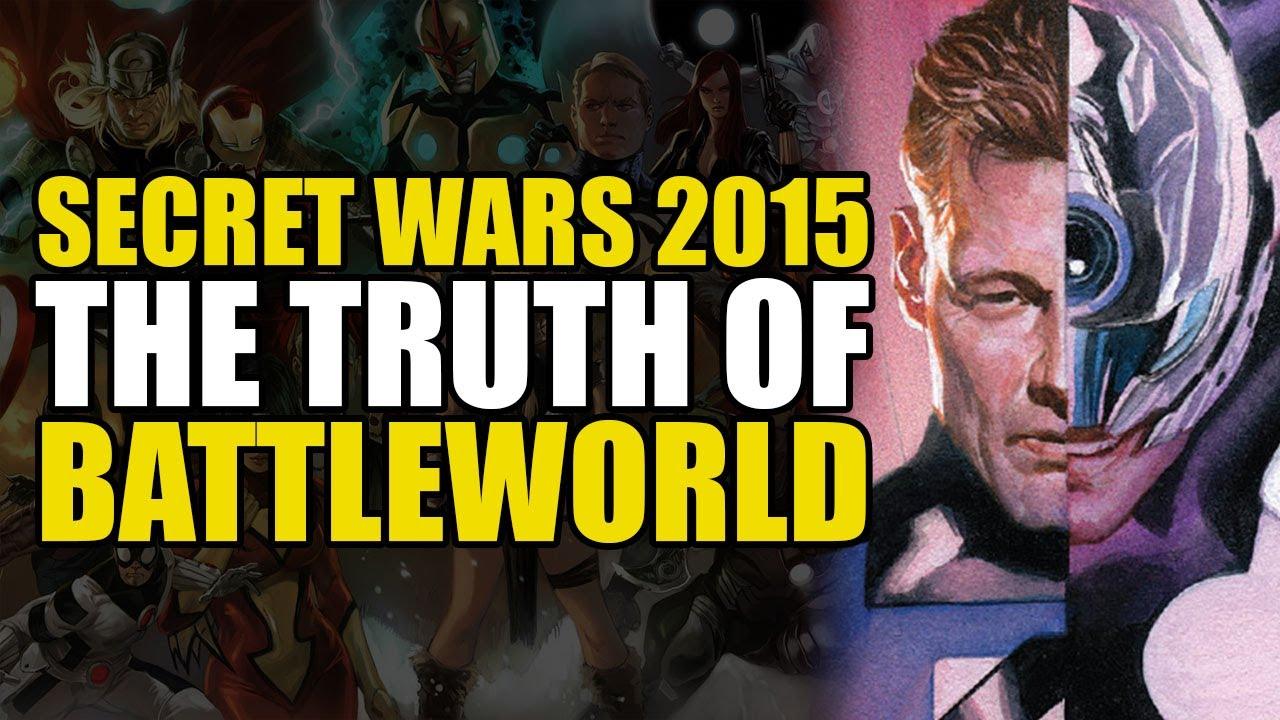 The Truth of Battleworld: Secret Wars 2015 Part 3 | Comics Explained