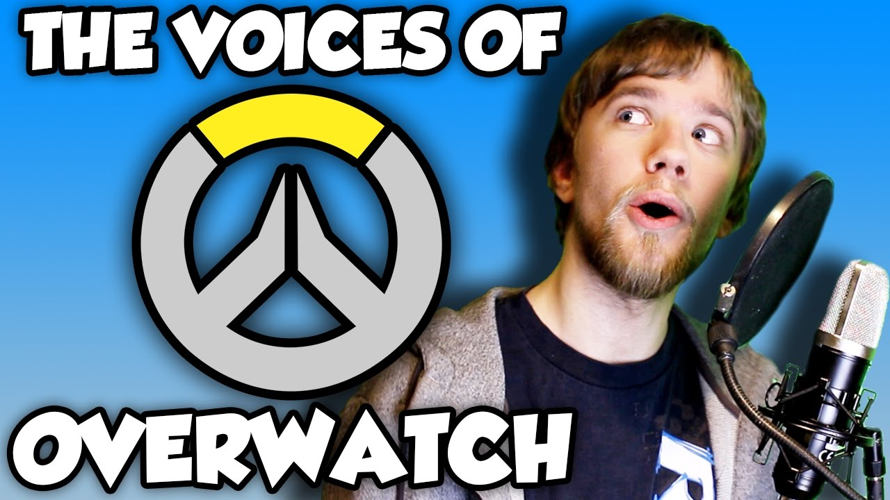The Voices of Overwatch - (Voice Impressions)