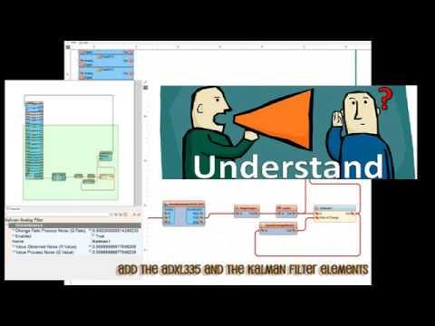 CUTSIE WHUN BETA and Visuino pt 4 - Kalman filter tuning