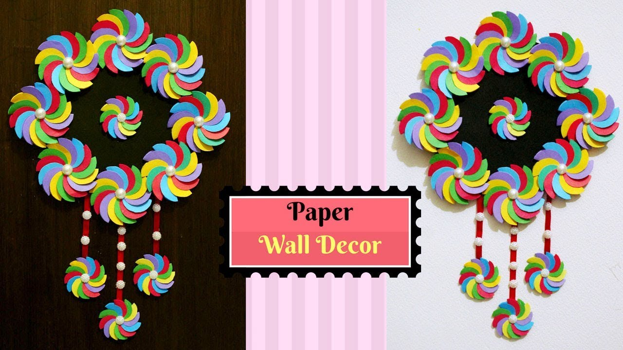 Paper Craft Home Decorations Best Wall Decoration Ideas Simple