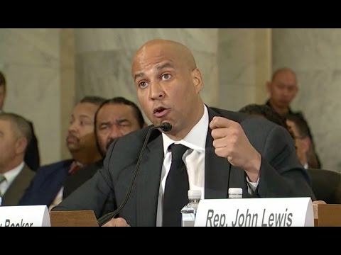 Booker, Richmond, Lewis, say Jeff Sessions is unfit to be Attorney General