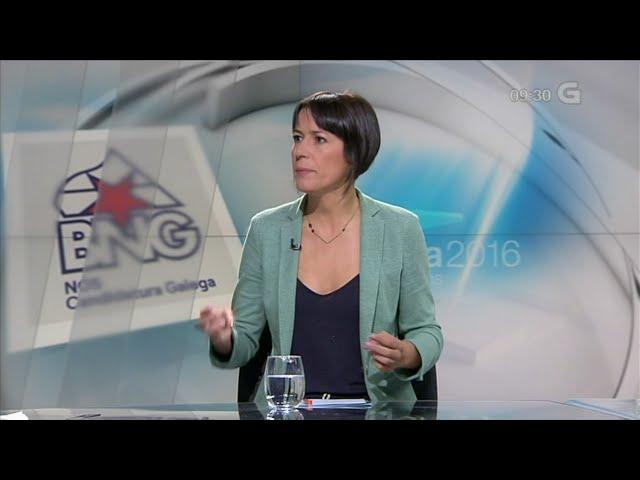 Entrevista con Ana Pontón na TVG