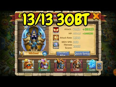 13/13 30BT Michael In Action L Castle Clash
