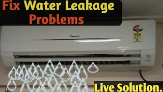 How to Fix Water leakage of Air Conditioner (Hindi & Urdu)
