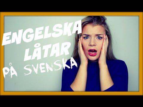 ENGELSKA LÅTAR PÅ SVENSKA #3