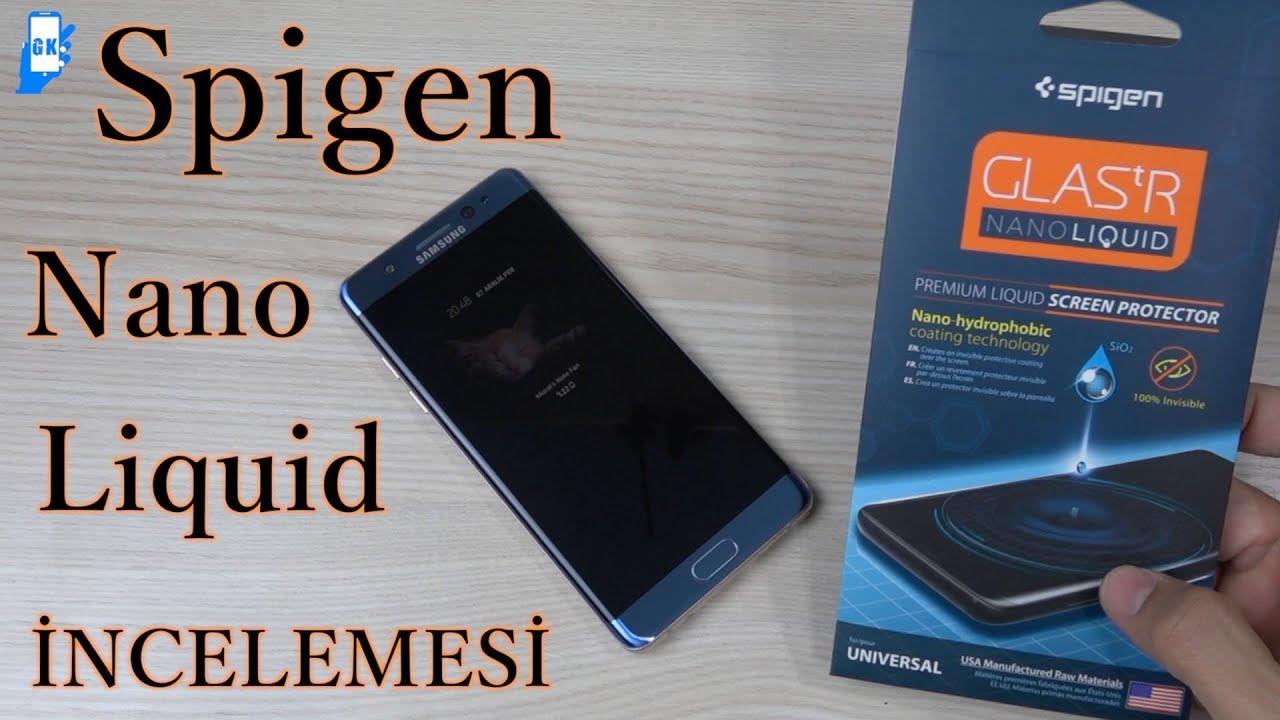 premium selection 0ee37 bc154 Spigen Nano Liquid ile ekranınızı koruyun (1 ay sonra neler oldu???)