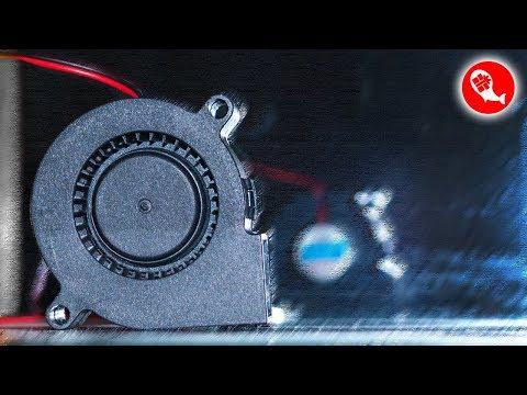Безщеточный турбовентилятор 5015 (50x50x15мм)   Кулер улитка SANLY SF5015SL 12V   Китай