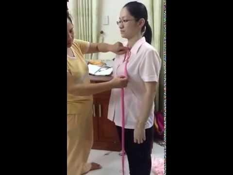 Hướng dẫn cách do áo dài
