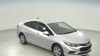 182214 - New, 2018, Chevrolet Cruze, LS, Silver, Test Drive, Review, For Sale -