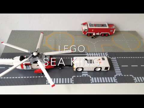 LEGO Sikorsky/Westland Sea King Coast Guard Helicopter Power Functions Motorized