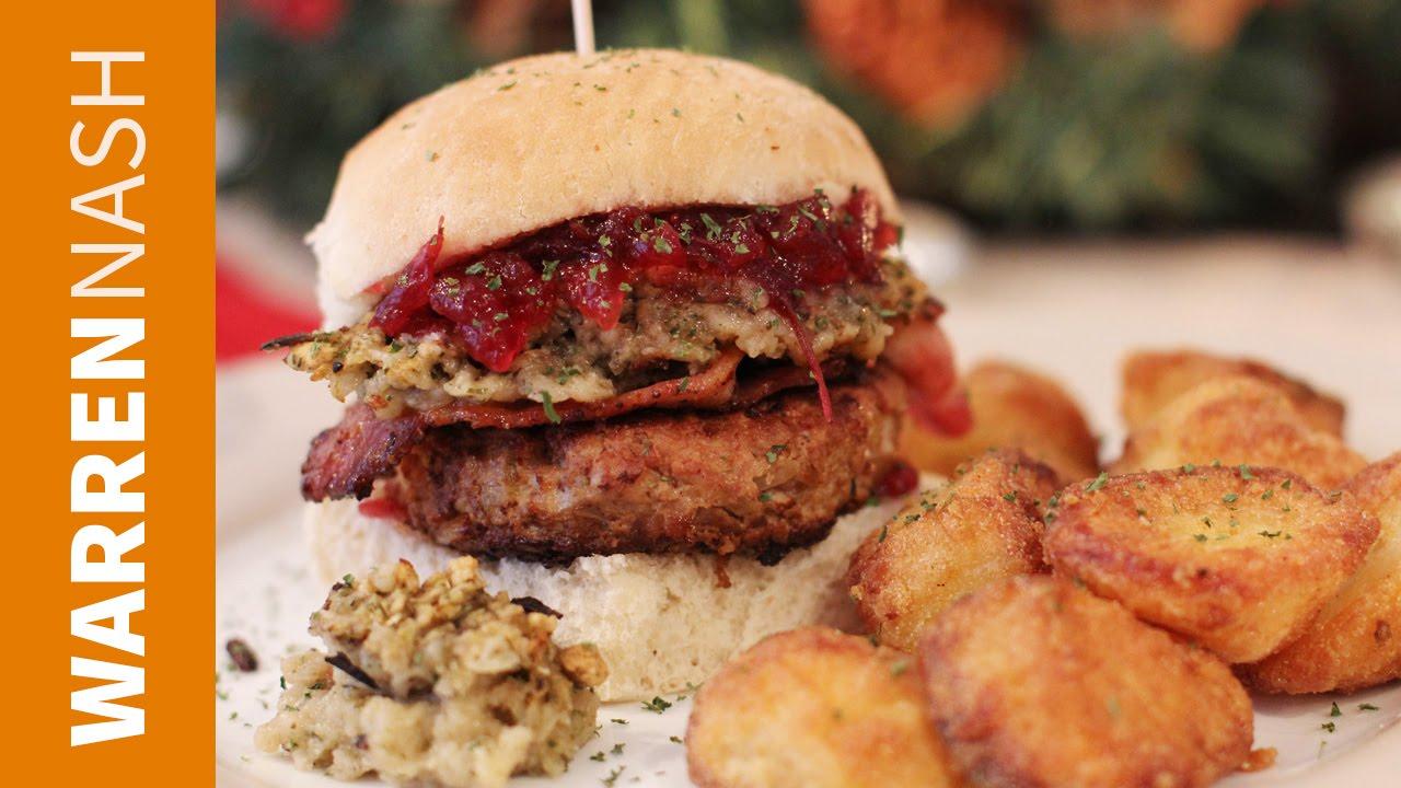 Turkey Burger Recipe Warren Nash Tv