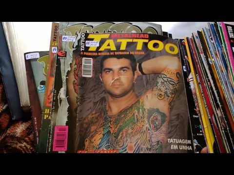 Coleção de revistas Tatuagem, Metal Head, Bella tattoo, Tatuagem Arte e Comportamento, Almanaque