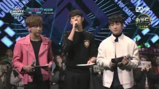 160303 Junior & BamBam (GOT7) MC Cut @ M! Countdown #5