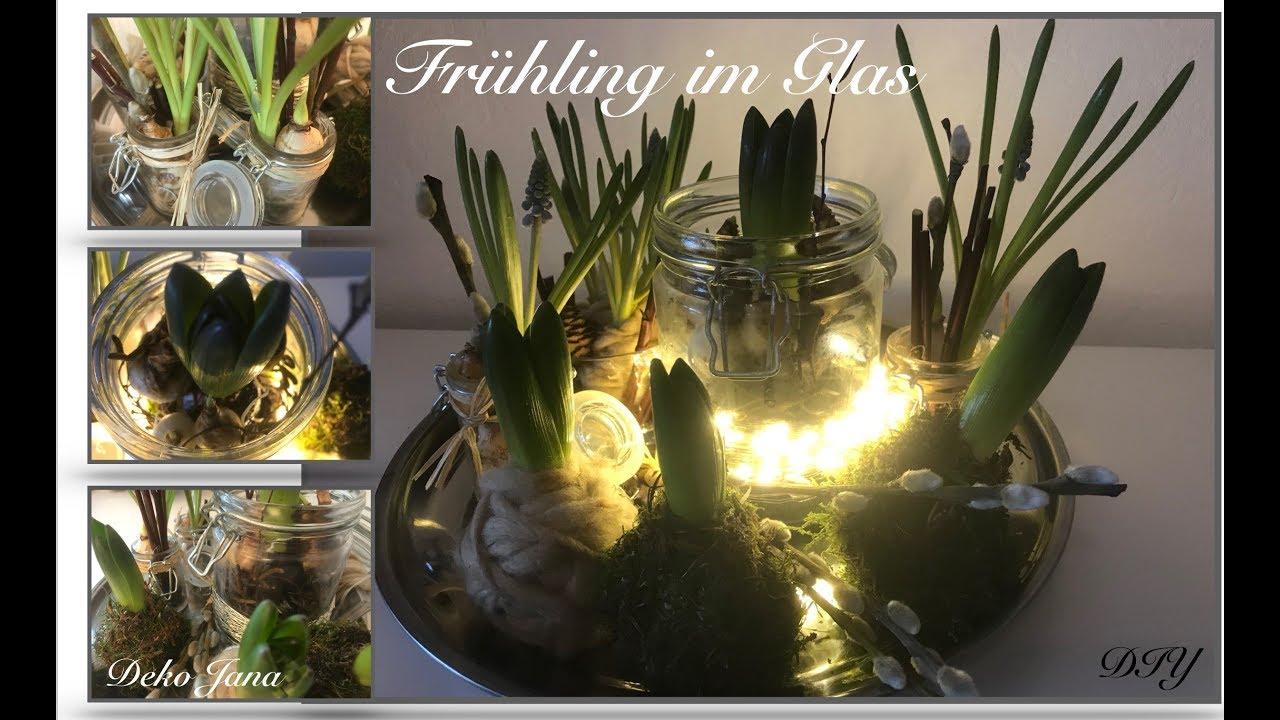 DIY: Wohn.- Und Deko Idee, Frühlingshafte Tischdeko