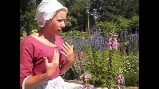 Tour Of Organic Herb, Vegetable And Flower Gardens In Colonial Williamsburg