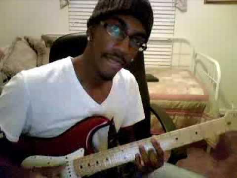 Usher- Nice and Slow Lesson R&B guitar (Xeryus Gittens on Guitar)